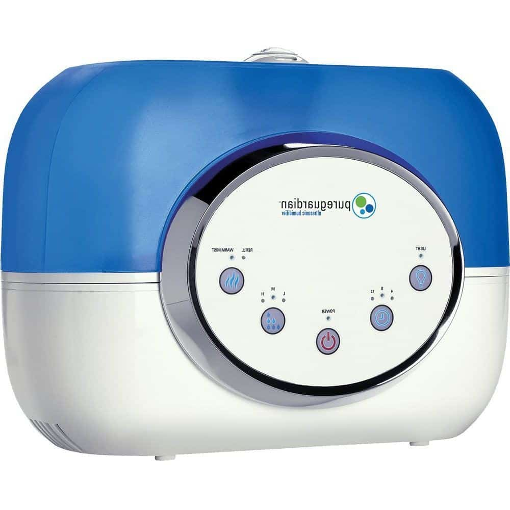 PureGuardian H4610 120-Hour Warm or Cool Mist Ultrasonic Humidifier